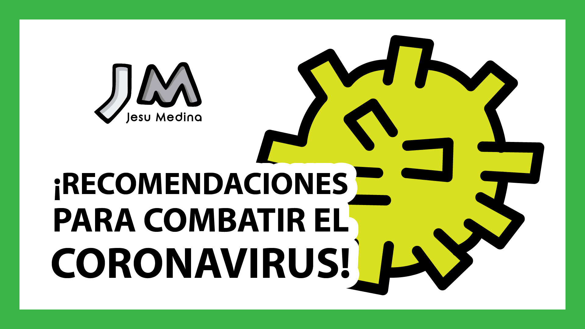 👑🦠 ¡11 RECOMENDACIONES para FRENAR al CORONAVIRUS y SALVAR A TU PAÍS! 🇪🇸