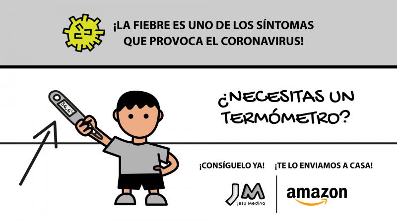 🌡️ ¡COMPRA TU TERMÓMETRO para saber si tienes FIEBRE! ¡Uno de los principales SÍNTOMAS del CORONAVIRUS!
