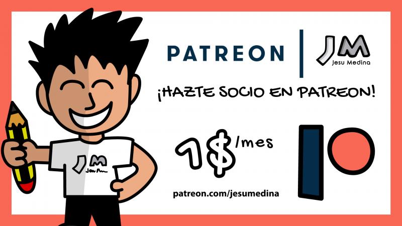 🎉 ¡Hazte socio en Patreon!